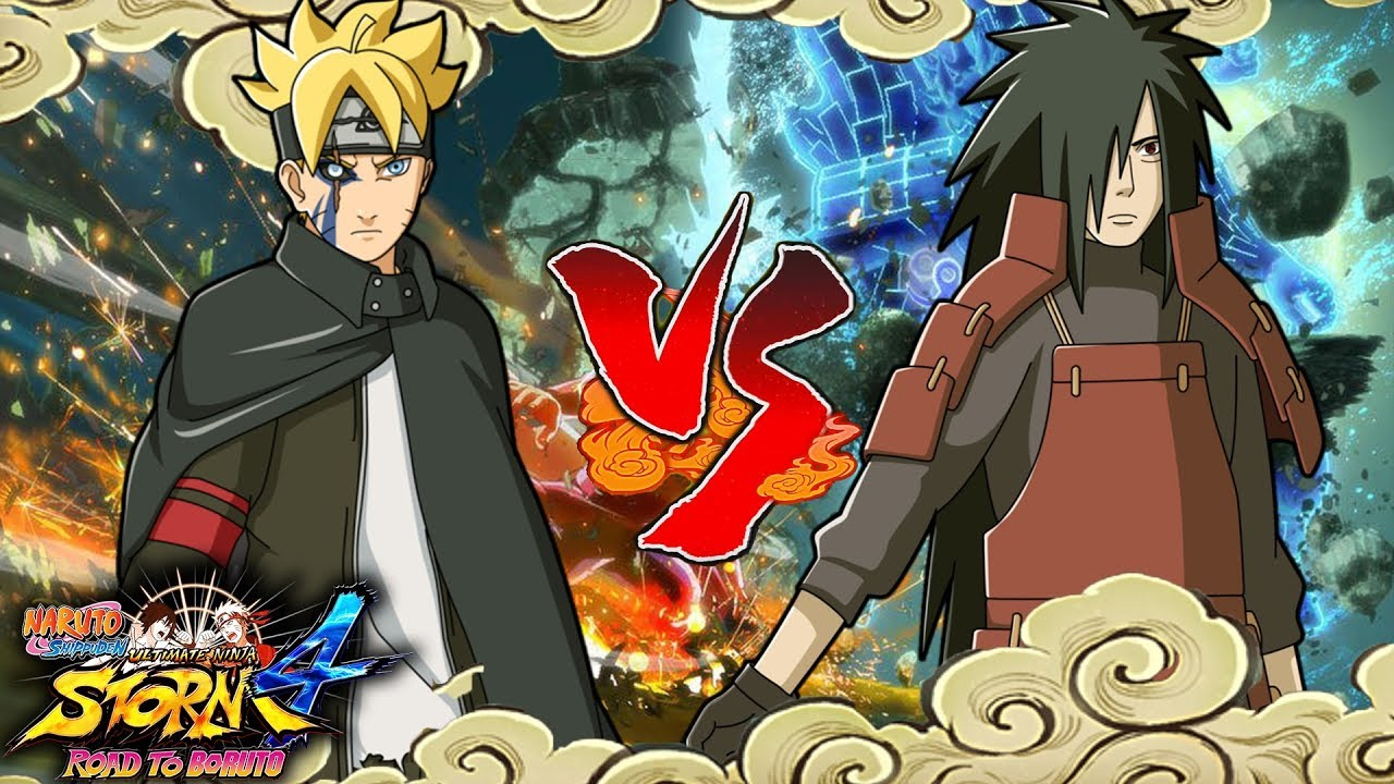 Adult Boruto Vs Madara Uchiha Naruto Shippuden Ultimate Ninja Storm 4 Road To Boruto