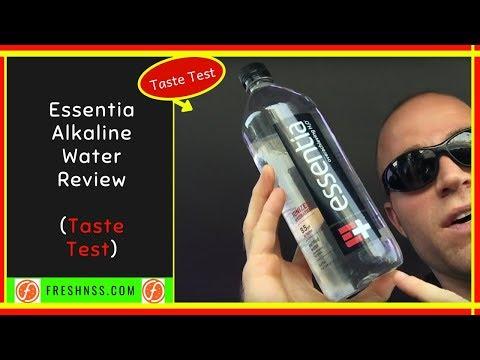 Essentia Alkaline Water Review (Taste Test)
