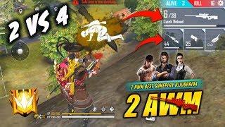 Maharaja Of AWM Best 16 Kills Game with Amitbhai - Garena Free Fire