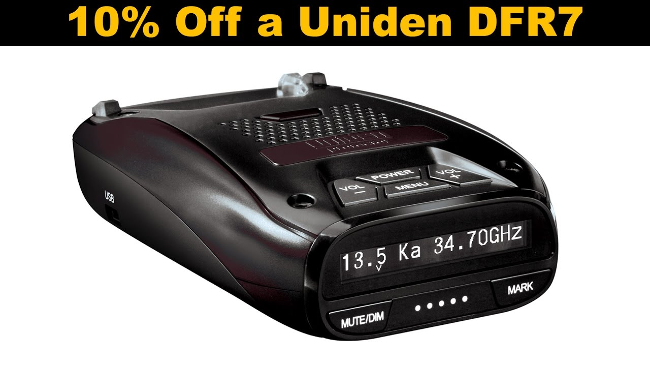 How to save 10% on a Uniden DFR7