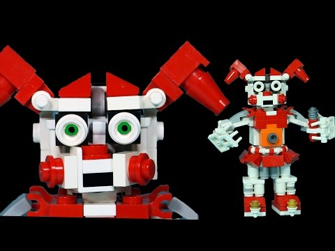 How to Build LEGO FNAF Circus Baby   Five Nights At Freddy's Sister Location Custom Build