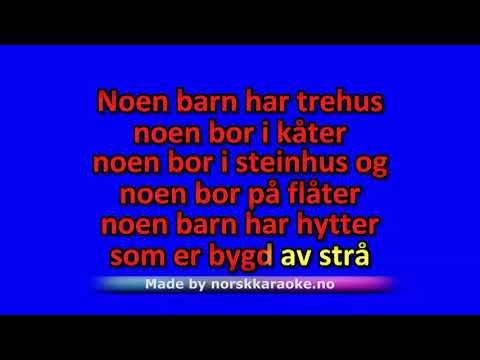 Karaoke - Noen Barn Er Brune - Per Asplin - Norsk Karaoke