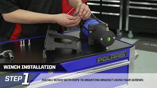 RANGER XP® 900 Polaris® PRO HD Winch with Rapid Rope Recovery Install | Polaris Off-Road Vehicles