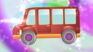 Spanish vocabulary words for kids - Vehicles Song