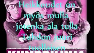Kymppilinja ft. Mariska - Minä lyrics