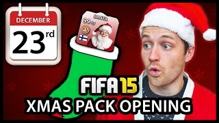 XMAS ADVENT CALENDAR PACK OPENING #23 - FIFA 15 ULTIMATE TEAM Thumbnail