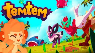 Playing The Best Pokemon Rip Off Yet! - TemTem