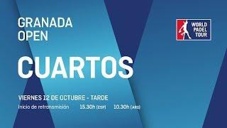 Cuartos de final masculinos - Granada Open 2018 - World Padel Tour