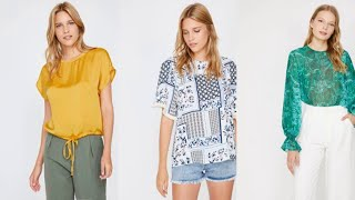Просто изумительный ассотримент женских блузок в украинском интернет магазине ROZETKA