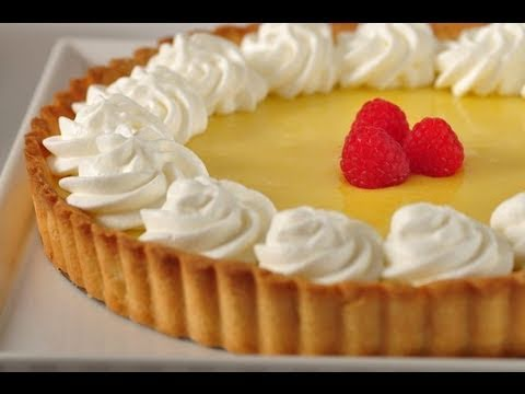 Lemon Curd Tart Recipe Demonstration - Joyofbaking.com