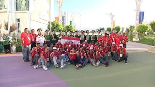 عشق آباد: افتتاح الدورة الخامسة لألعاب الصالات والفنون القتالية - sport