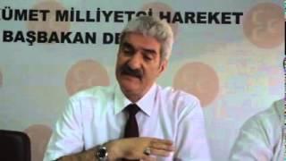 MHP AFYON İL BAŞKANI RAŞİT DEMİREL GÜNDEMİ DEĞERLENDİRDİ