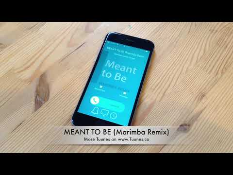 Meant to Be Ringtone - Bebe Rexha Tribute Marimba Remix Ringtone - For iPhone & Android