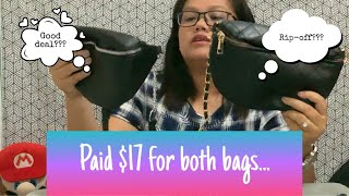 UNBOXING AND REVIEW BELT BAGS FROM ALIEXPRESS | STEAL DEAL OR RIP-OFF | theeatonsquad