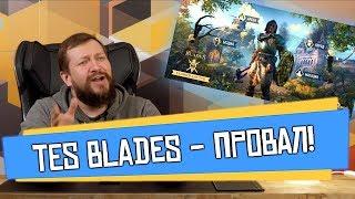 Обзор TES Blades или почему в ЭТО не стоит играть.