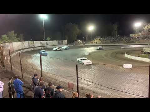 Hobby Stocks Bakersfield Speedway Budweiser Nationals. - dirt track racing video image