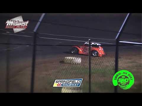 S03-E304 Legend & Sharp Mini Late Models A-Feature Springfield Raceway 6-15-2019
