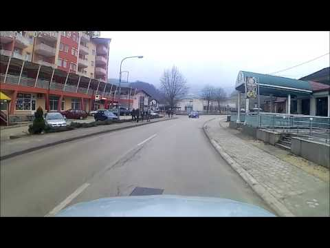 Voznja kroz grad Kljuc 2017