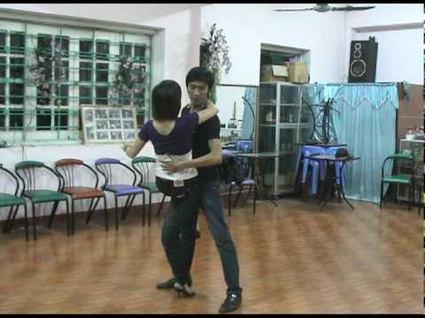 Huy & Lan Tap Rumba Tai CLB Khieu Vu Thanh Thinh
