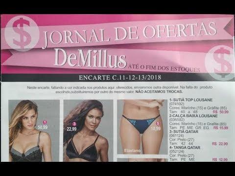 920d911ce DeMillus Jornal de Ofertas Camp 11-12-13 2018 - YouTube