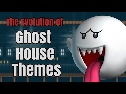 Every Super Mario Bros Ghost House Theme | Evolution of Mario Music
