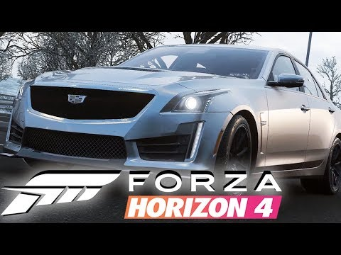 Forza Horizon 4 | #4 - Snow Covered Muscle Cars thumbnail