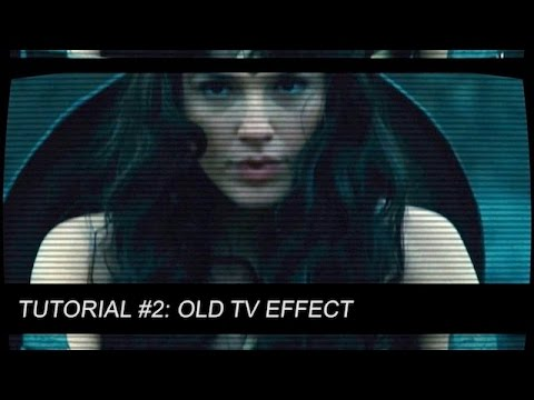 Tutorial 2 Old Tv Effect Newbluefx Style Premiere Cs6 Youtube