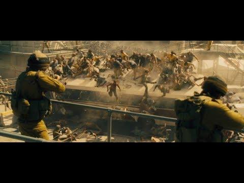 Зомби проникают в Иерусалим. Часть-1  Война миров Z ( World War Z )