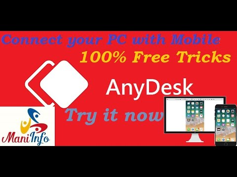 What is anydesk? Remote desktop