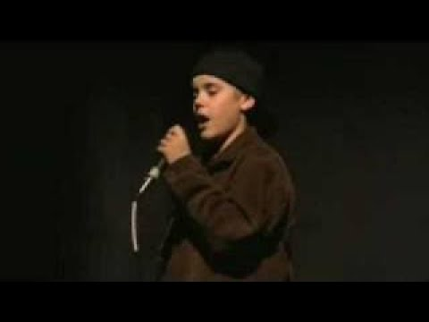 Justin singing Someday at Christmas by Stevie Wonder - Final - YouTube