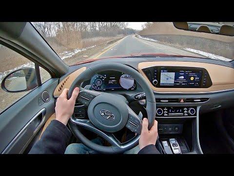 2020 Hyundai Sonata Limited - POV Test Drive (Binaural Audio)