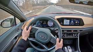 2020 Hyundai Sonata Limited - POV Test Drive (Binaural Audio)