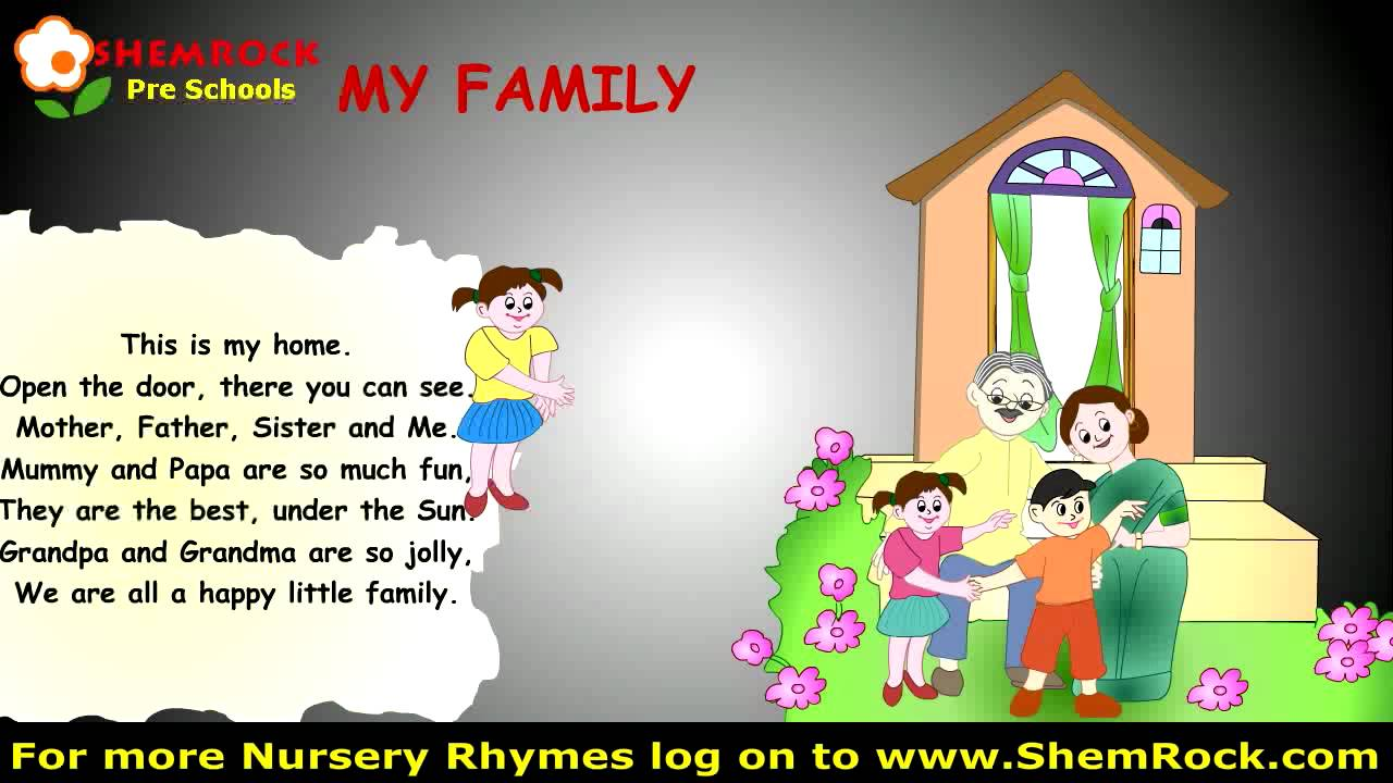 sc 1 st  YouTube & Nursery Rhymes My Family Songs with lyrics - YouTube pezcame.com