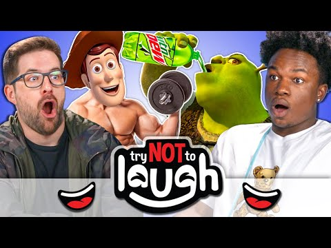YouTubers Try To Watch This without Laughing or Grinning #33