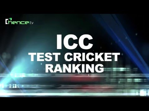 ICC TEST RANKING, Points, Match list & team Rating