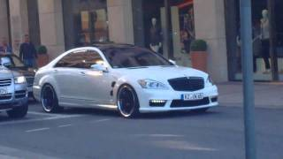 Mercedes-Benz s63 amg LORINSER accelerate MONSTER in Hamburg