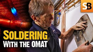 OMAT - The  Soldering Mat With The Hole In