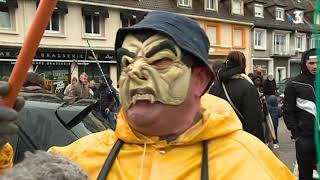 Carnaval du Portel : des pecs-pecs et des bonbecs comme s'il en pleuvait pour les enfants
