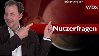 Kann ich ein Grundstück auf anderen Planeten kaufen? | Nutzerfragen Rechtsanwalt Christian Solmecke