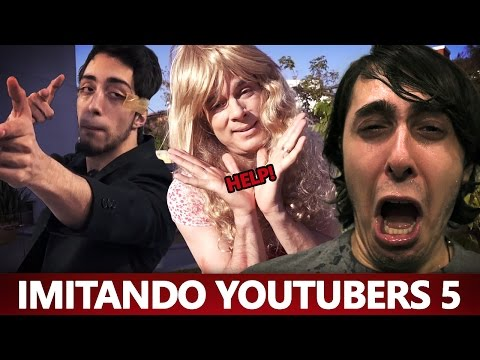 IMITANDO YOUTUBERS 5 - Celso Portiolli e Lucas Inutilismo