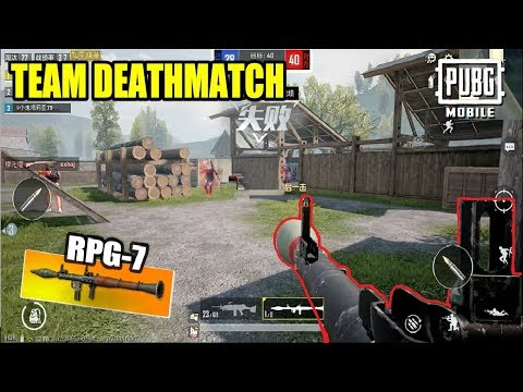 *NEW* RPG-7 BAZOOKA In Team Deathmatch? Pubg Mobile Chinese Version (Game For Peace)