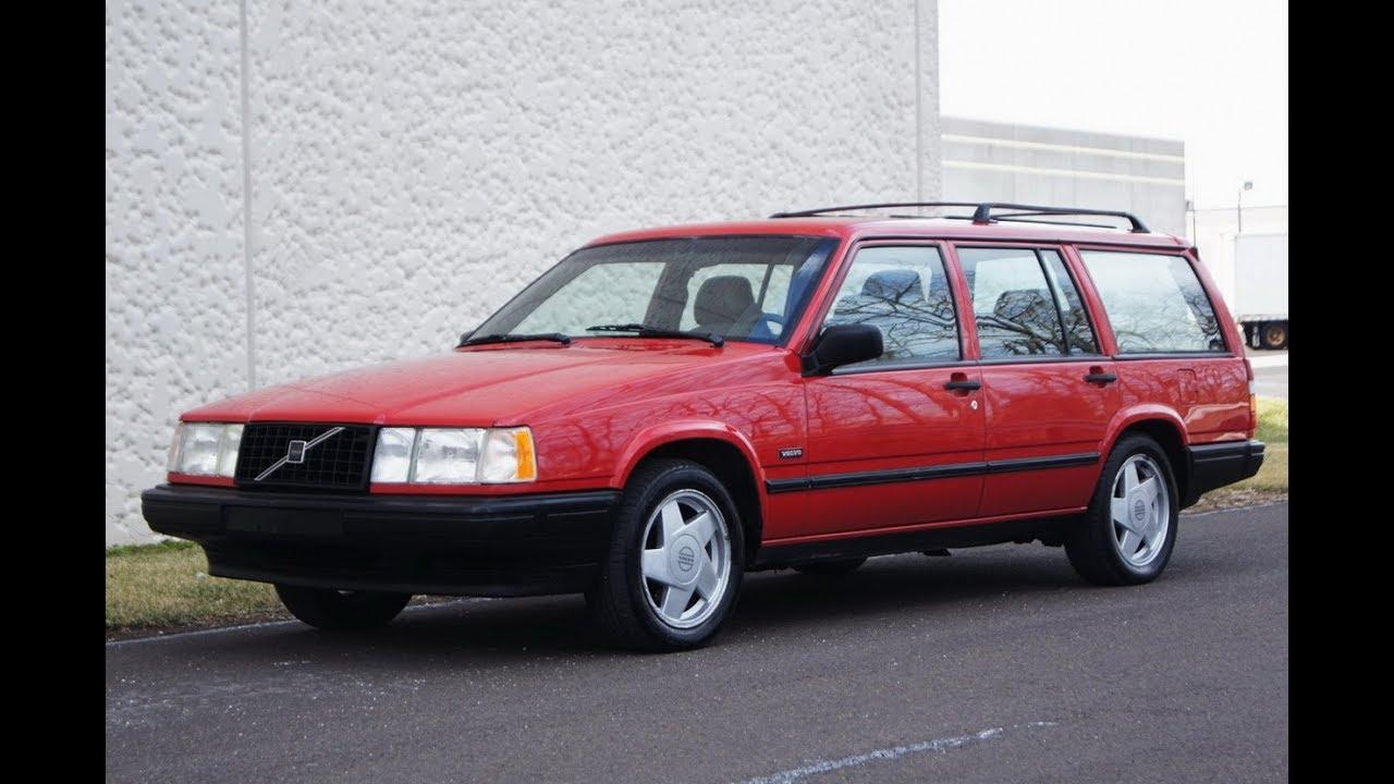 1993 Volvo 740 2 3l Turbo Station Wagon Red