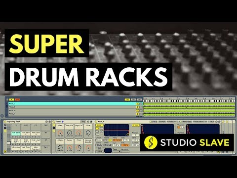 3 Ways To Use Drum Racks For Layering Your Favourite Sample Folders In Ableton Live