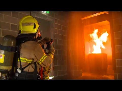 Victorian Emergency Management Training Centre - training drill