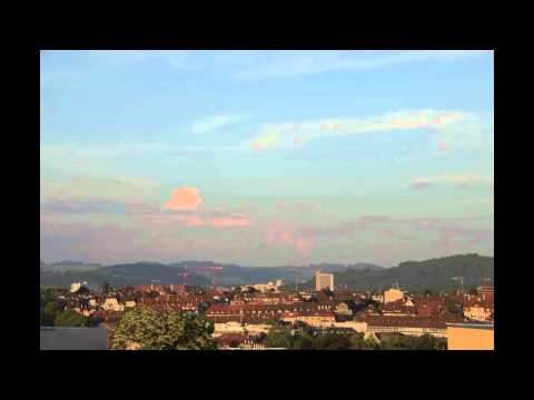 Time-lapse over Bern