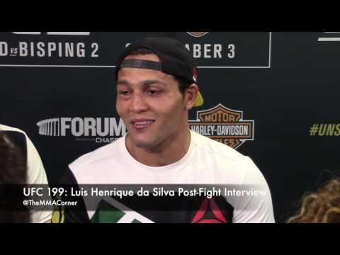 UFC 199: Luis Henrique da Silva Post-Fight Interview