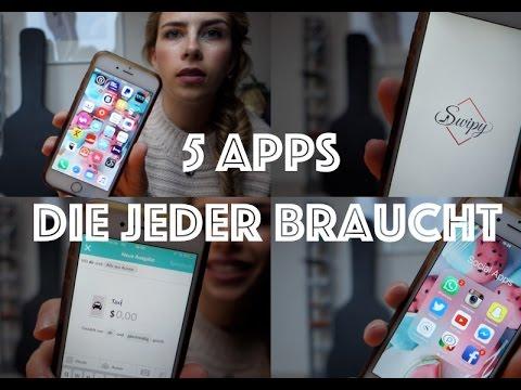 5 Apps die jeder auf dem Handy haben sollte ♡ Luisa Lion