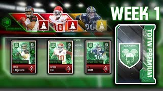 First Official TOTW Pack Opening of the Season - Madden Overdrive