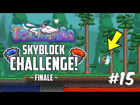 Terraria 1.3 SKYBLOCK CHALLENGE! | Custom Modded Map Challenge! | Part 15 | FINALE!