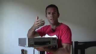 VIDEO CASSETE. Como Converter VHS para DVD (Aparelho, Cabos e Placa)
